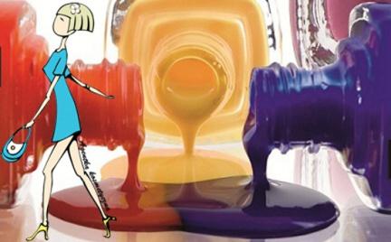 Kosmetyczna Agentka: lakierowy zawrót głowy lato 2012 po polsku