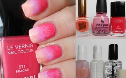 Manicure krok po kroku: wiosenny gradient