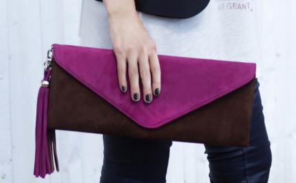 Mako Bags: kopertówki z frędzlami