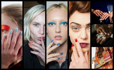 Trendy z wybiegów: wiosenny manicure