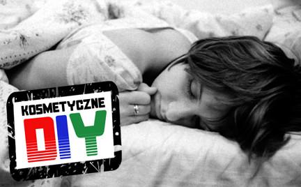Zrób to sama Kosmetyczne DIY: pachnąca poduszka na bezsenność