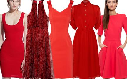 Kupujemy: czerwoną sukienkę na Walentynki