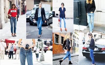 Trudny trend: dżinsy w stylu lat 90.