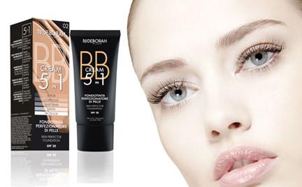 W poszukiwaniu podkładu idealnego: 5-in-1 BB Cream Deborah