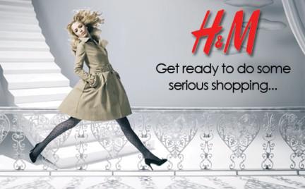 H M startuje ze sklepem internetowym