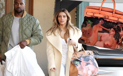 Artystyczna Birkin Kim Kardashian czyli kolejny ekstrawagancki prezent od narzeczonego