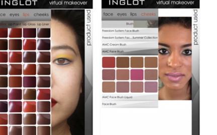 Wirtualny makijaż z Inglot już dostępny