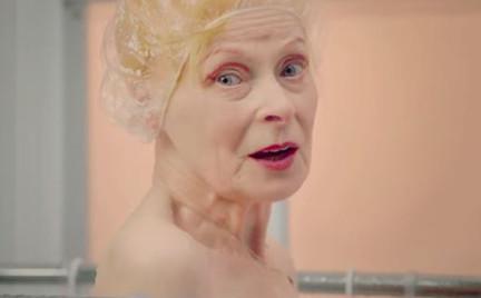 Vivienne Westwood pod prysznicem