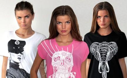 Modekungen bogata kolekcja T-shirtów
