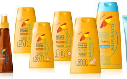 Kosmetyki słoneczne Mirasol