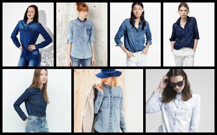 Kupujemy: dżinsowe koszule
