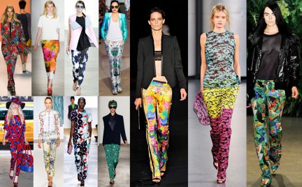 Kupujemy: wzorzyste spodnie