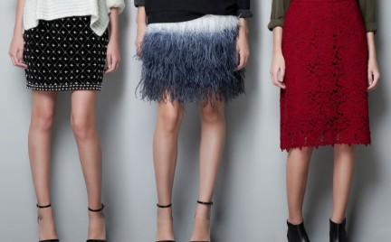 Nietuzinkowe spódnice Zara