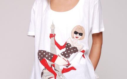 T-shirt z podobizną Anny Wintour