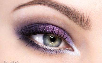 Makijaż: Wedding Violet Smoke