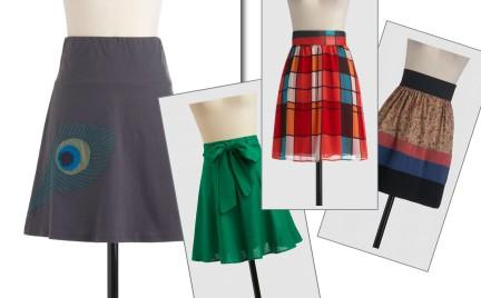 ModCloth: spódnice godne uwagi