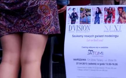 Relacja - casting D vision i Next