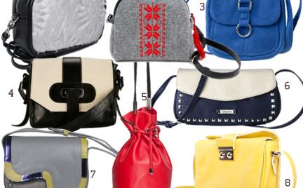 Kupujemy: małą torebkę na długim pasku