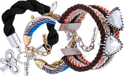 Metal Glamour modne sznurki By dziubeka
