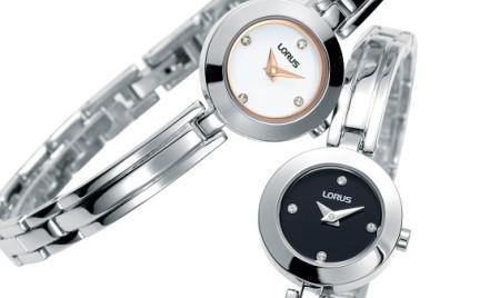 Złoto-srebrne zegarki Lorus