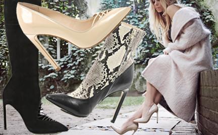 Blogerka 5 Inch and Up projektuje buty dla River Island. Zobacz kolekcję