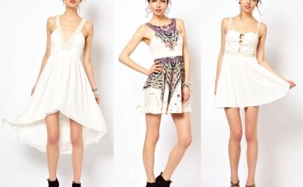 Co o ty myślicie: białe sukienki na studniówkę