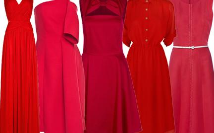 Kupujemy: czerwoną sukienkę