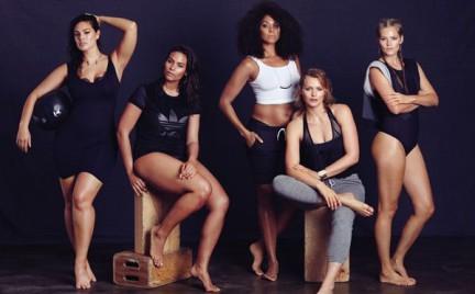 Każda kobieta jest piękna Modelki plus size w sportowej sesji magazynu Bust