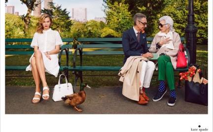 93-letnia Iris Apfel w kampanii Kate Spade