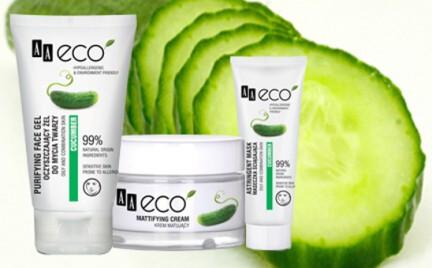 Kosmetyk tygodnia: Ogórek AA Eco