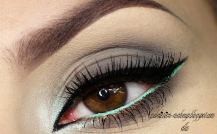 Makijaż: Pastel Green
