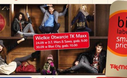 Otwarcie TK Maxx w warszawskim Blue City