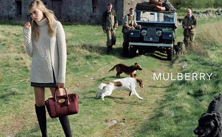 Wiejska sielanka Mulberry czyli Cara Delevingne w Szkocji