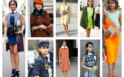 Najciekawsze stylizacje Miroslavy Dumy księżniczki street fashion