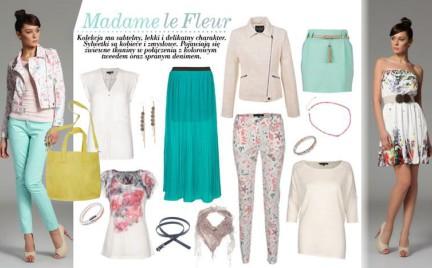 Madame la fleur wiosna w kolekcji Top Secret