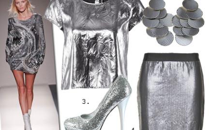 Moda z wybiegów: srebro