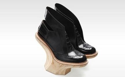 Co o nich myślicie: drewniano-skórzane buty Kim Kiroic