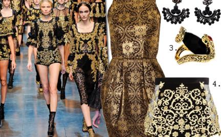 Moda z wybiegów: barok