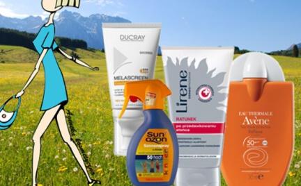 Kosmetyczna Agentka: piknikowe opalanie (ponad 70 kosmetyków)