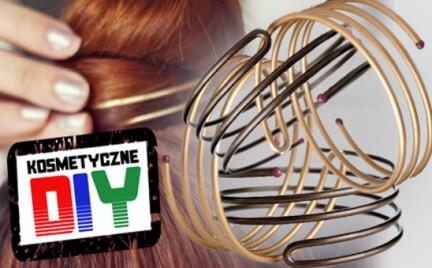 Zrób to sama Kosmetyczne DIY: bransoleta do koka