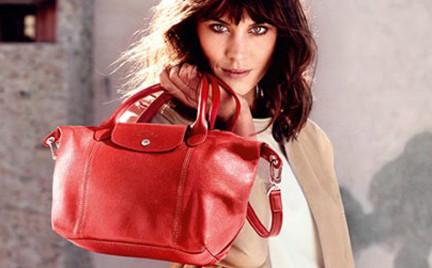 Alexa Chung została twarzą urodzinowej kampanii Longchamp