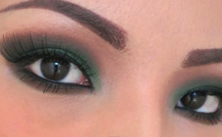 Wideomakijaże: w kolorach aksamitnej zieleni