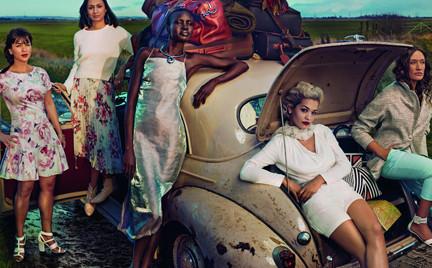 M S prezentuje kolejne grono Leading Ladies Zobacz doskonałą sesję Annie Leibovitz