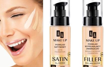 W poszukiwaniu podkładu idealnego: Seria AA Make Up