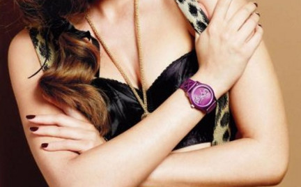 Czas na purpurę: zegarki Guess