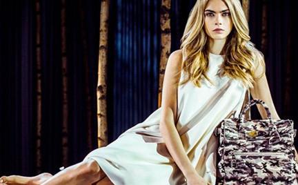 Cara Delevingne projektantką Mulberry. Zobacz kolekcję torebek i plecaków modelki