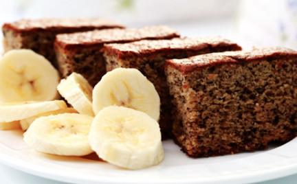 Niskokaloryczne ciasto bananowe Jesz bez wyrzutów sumienia