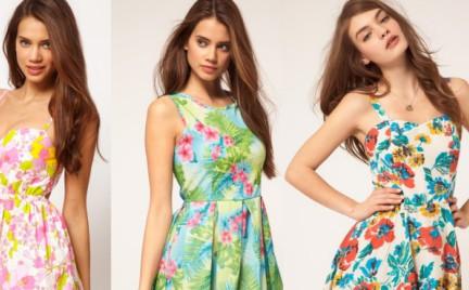 Top 5 z wyprzedaży: wzorzyste sukienki z Asos.com