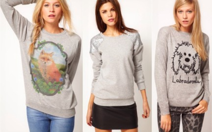Trend sezonu: szara bluza