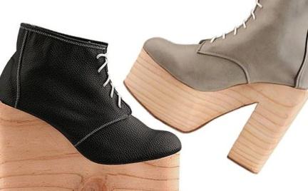 Co o nich myślicie: buty Deandri na drewnianej podeszwie